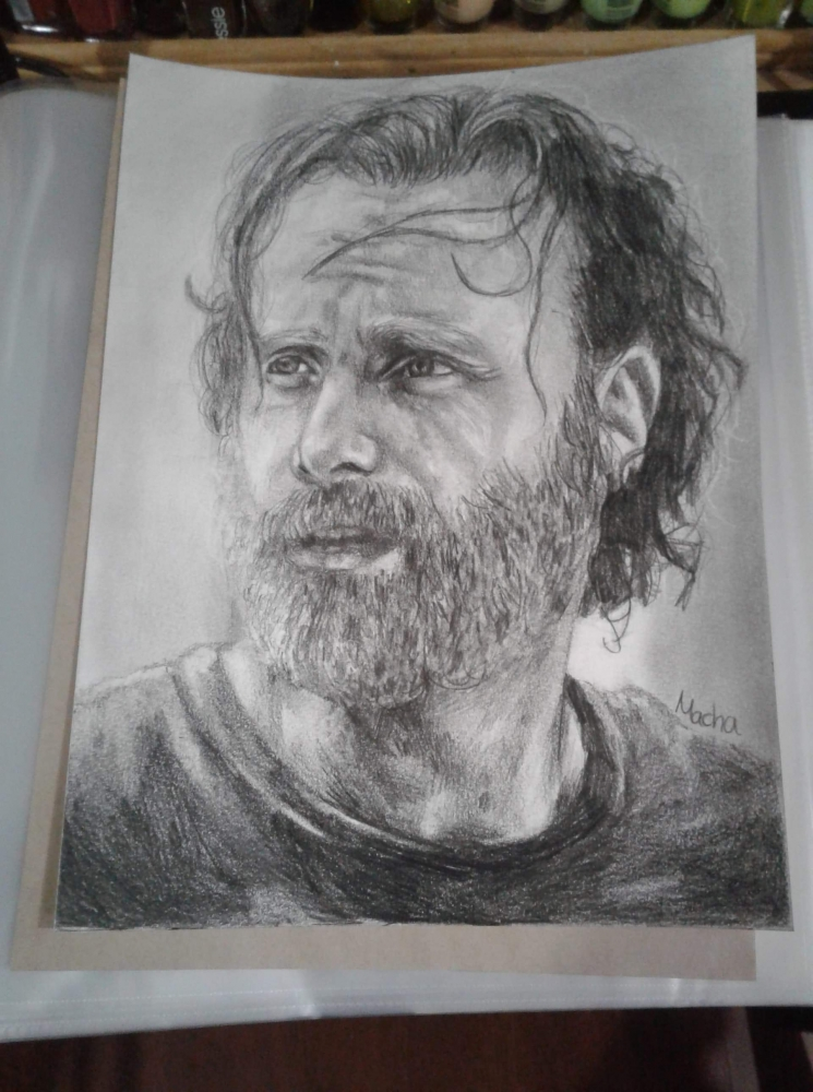 Andrew Lincoln by Macha